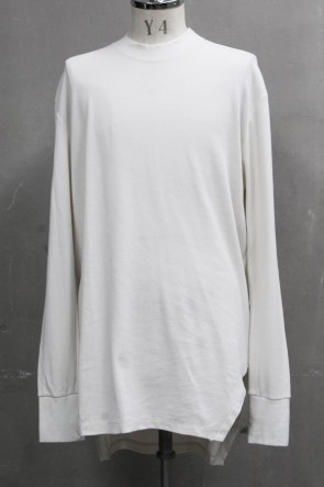 JULIUS 20PS FRAMED HEM SHIRT Plaster
