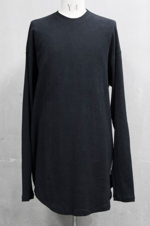 JULIUS 20PS TWIST SHIRT Black