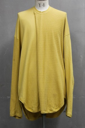 JULIUS 20PS 2 FACE TUCK SHIRT Mustard