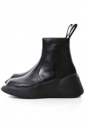 JULIUS 20SS Side zip engineer boots