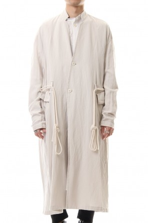 JULIUS 20SS Long jacket Plaster