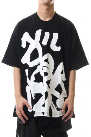 NILøS 20SS Graphics PT S/S cut&sewn Black