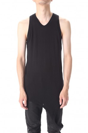 JULIUS 20-21AW LOOP TANKTOP
