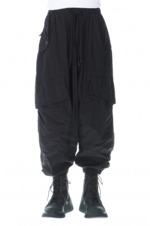 JULIUS 20-21AW COTTON CARGO PANTS