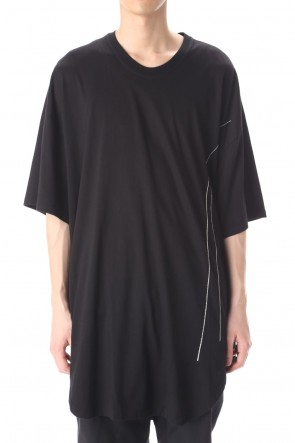 JULIUS 21PS Embroidered Oversize T-shirt
