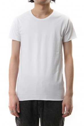 wjk 19SS crew neck short sleeve standard white