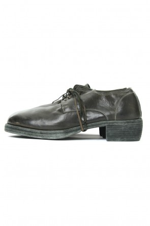 Guidi 18SS Classic Derby Shoes Double Sole - Horse Full Grain Leather
