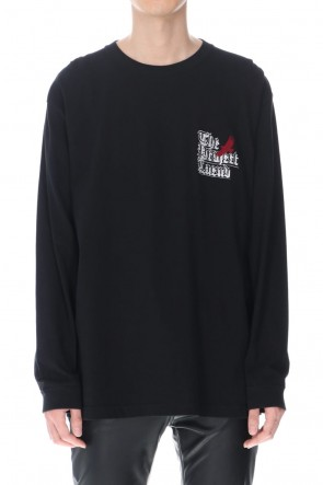 GalaabenD21-22AWEmbroidery Long sleeve t-shirt (Black)