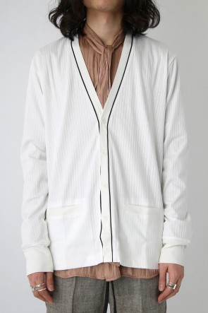 GalaabenD 18SS Myvis/C No Needle Smooth CARDIGAN