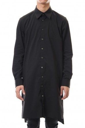 GalaabenD 20PS Broad Cross Stretch Long Shirt (Black)