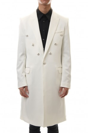 GalaabenD 20PS Hybrid French Twill Long Jacket (Off White)