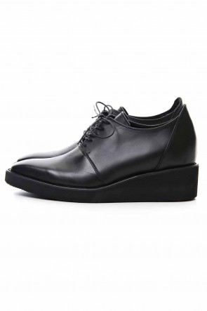 GalaabenD 20SS Oil Cow Smooth New Lace Up Shoes