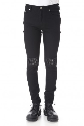 GalaabenD 20SS EX fit denim leggings pants (Metal dot)