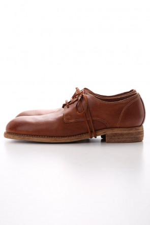 Guidi20SSClassic Derby Shoes Laced Up Single Sole - Donkey Full Grain - 992X