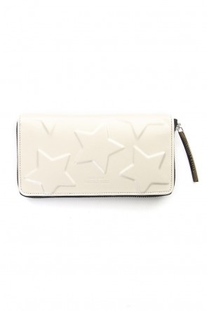 MIHARAYASUHIRO Classic STAR Invisible Long Wallet Silver