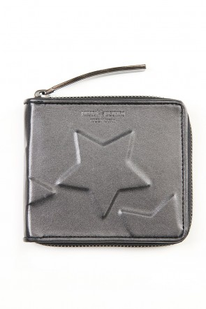 MIHARAYASUHIRO Classic STAR Invisible Small Wallet Black
