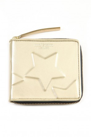 MIHARAYASUHIRO Classic STAR Invisible Small Wallet Gold