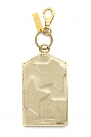 MIHARAYASUHIRO Classic STAR Invisible S Card Case Gold