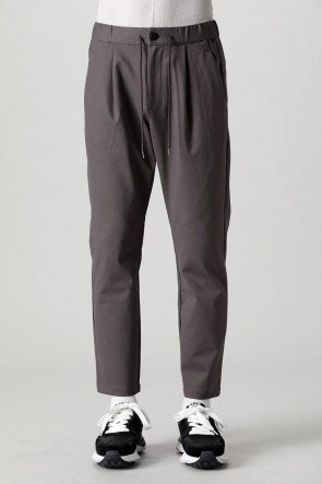 ATTACHMENT21-22AWCotton compressor 1 tuck Easy pants Brown