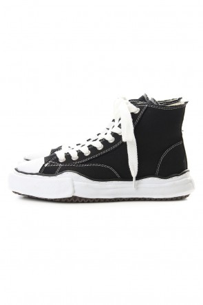 MIHARAYASUHIRO Classic Original sole Canvas Hi cut sneaker Black Delivery May