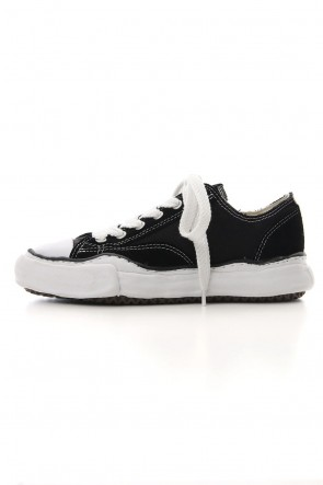 MIHARAYASUHIRO 19-20AW CANVAS SUEDE LOWCUT SNEAKERS Black