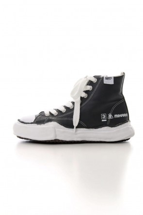 MIHARAYASUHIRO 19-20AW Original sole Leather Hi top sneaker Black