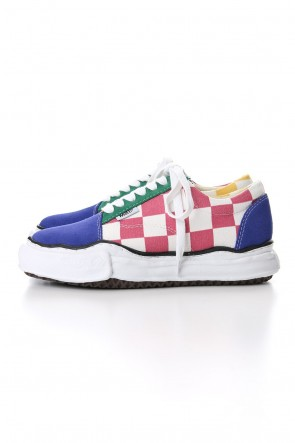 MIHARAYASUHIRO 19-20AW BIG GINGHAM LOWCUT SNEAKERS Multi