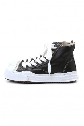 MIHARAYASUHIRO 20-21AW Original sole Toe cap sneaker HI leather Black