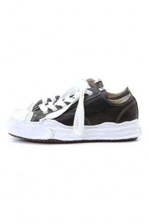 MIHARAYASUHIRO 20-21AW Original sole Toe cap sneaker LOW leather Black