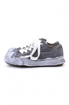 MIHARAYASUHIRO 20-21AW Original sole Toe cap sneaker LOW over dyed Black Delivery Early of November