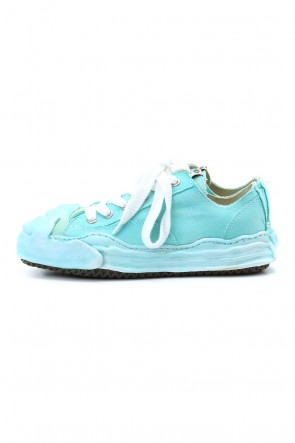 MIHARAYASUHIRO 20-21AW Original sole Toe cap sneaker LOW over dyed Emerald