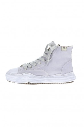 MIHARAYASUHIRO 21SS -PETERSON- Original sole over dyed Hi-top sneakers Gray