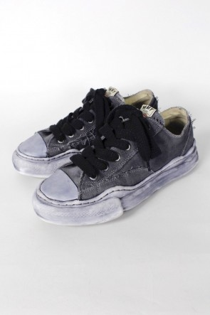 MIHARAYASUHIRO21SS-PETERSON- Original sole over dyed Low-cut sneakers Black