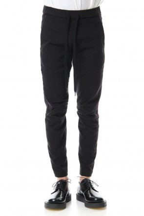 ATTACHMENT19-20AWHigh power stretch twill biker easy pants Black