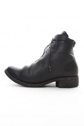 SADDAM TEISSY 18-19AW Horse leather lace up boots - ST109-0018A