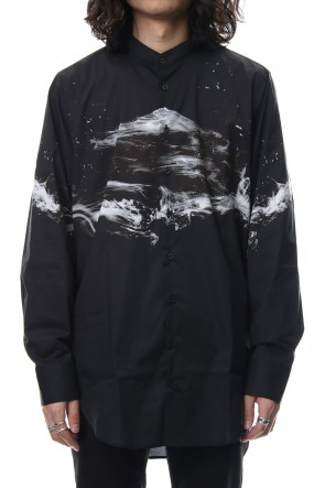 Neil Barrett 18SS STAND COLLAR SHIRT