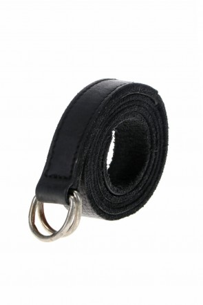 Guidi 21SS Belt Bison Full Grain Leather - BLT13 Black
