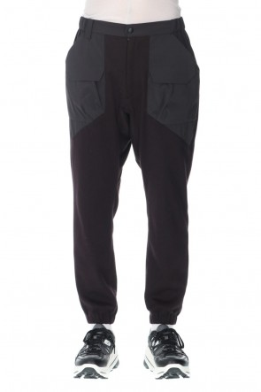 White Mountaineering21-22AWSolotex flannel Jogger pants
