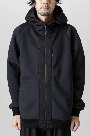 White Mountaineering21-22AWContrasted Zipup hoodie