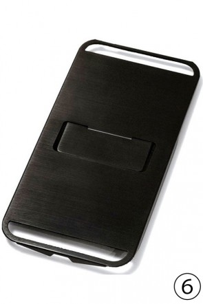 CLAUSTRUM Classic iPhone6 Case FLAP - BLACKENING