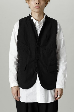 GARMENT REPRODUCTION OF WORKERS21-22AWBucolic vest  Black