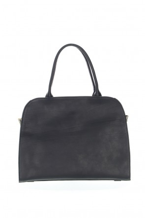 "CORIU 21SS ""Sella"" Boston Bag Calf Black"