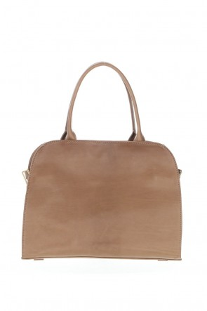 "CORIU 21SS ""Sella""  boston Bag Calf Nocciola"
