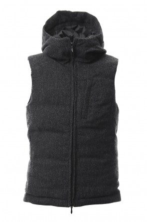 CIVILIZED 18-19AW TRANSFORM COVERED VEST