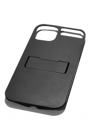CLAUSTRUM Classic FLAP iPhone11pro Case Holder + Stand - BLACK MATTE