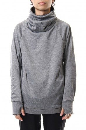 CIVILIZED 19-20AW COVERED NECK L/S T.GRAY