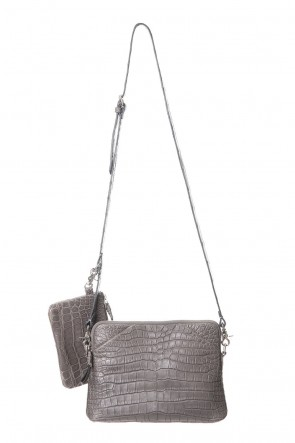cornelian taurus Classic Switch shoulder - Crocodile Leather
