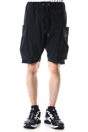 CIVILIZED 19SS MILITARY SHORT PANTS Black - CS-1818