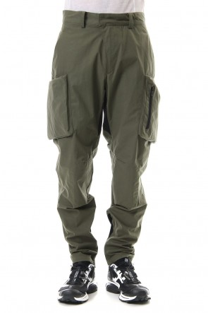 CIVILIZED 19-20AW URBANE FLIGHT PANTS - MILITARY GREEN
