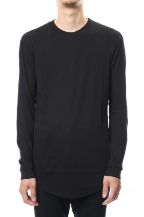DEVOA 18-19AW long Sleeve Cotton Cashmere Fine Jersey